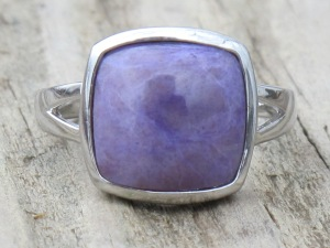 Turkish Purple Jade Ring