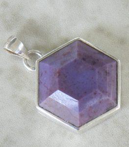 Turkish Purple Jade Pendant